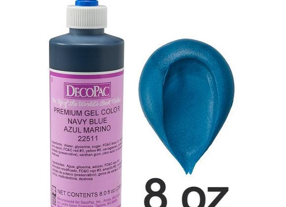 Azul Marino - Navy  Blue Premium Gel 8oz