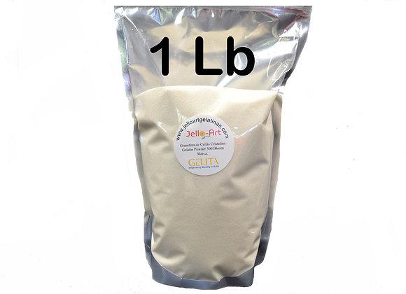 Unflavored Gelatin - Grenetina de Cerdo 1lb (16oz) Bag
