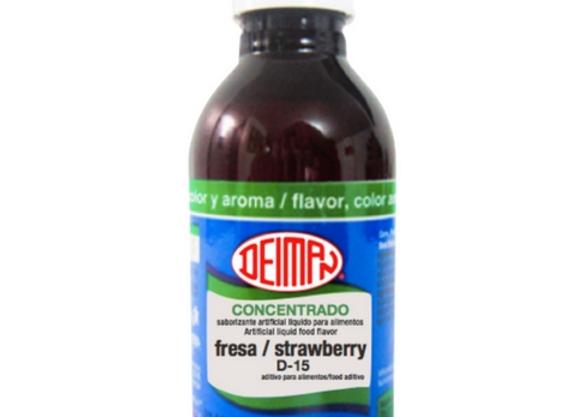 Fresa - Concentrado 4.1oz ( Sabor, Color, Aroma)