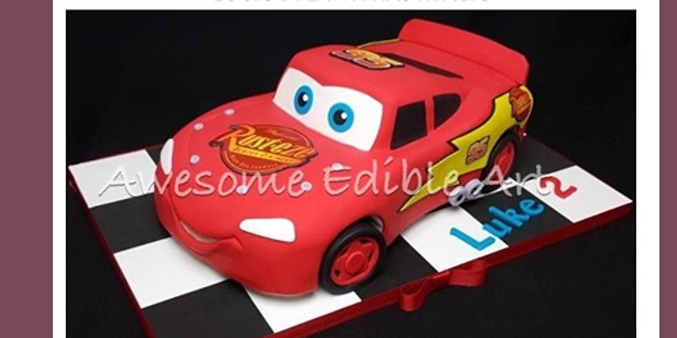 Pastel de carro de MACQEEN