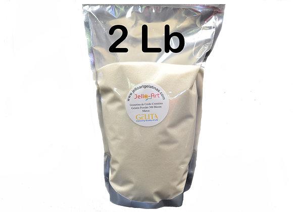Unflavored Gelatin - Grenetina de Cerdo 2lb (32oz) Bag