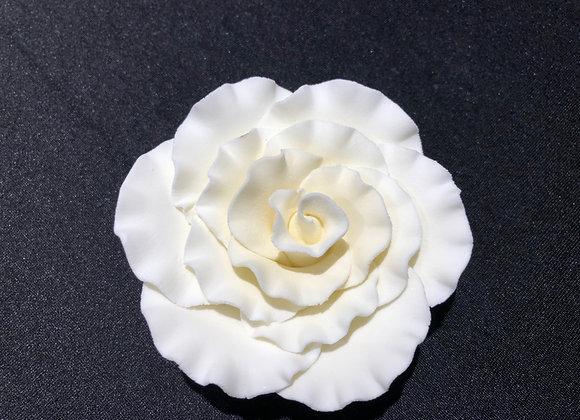 """Rose Ivory 3"""" Gumpaste"""
