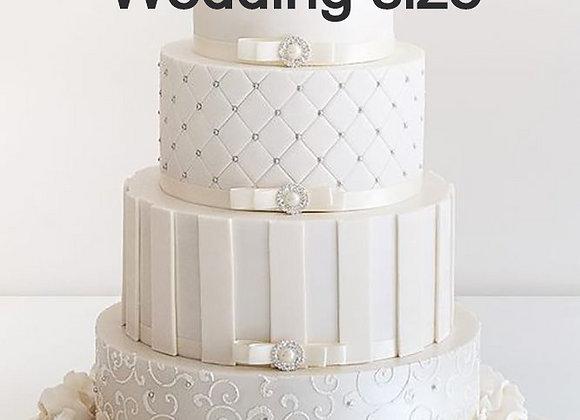 Deposito $80 Dlls Pastel Boda-Wedding Size