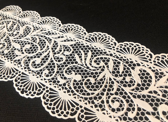 French Lace EF81 color BLANCO