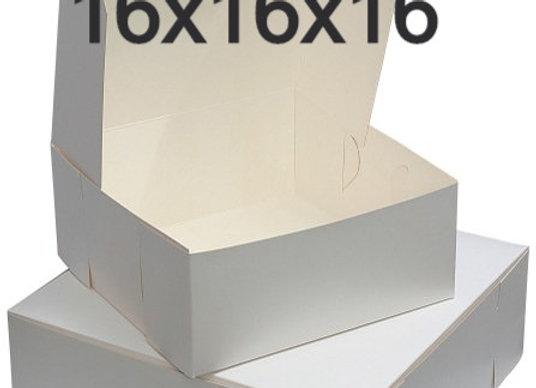 Caja Para Pastel 16 x 16 x 6 - Cake Box 16 x 16 x 6