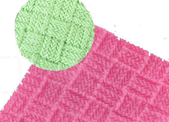 Tejido de Textura #3 - Knitting Silicone Texture