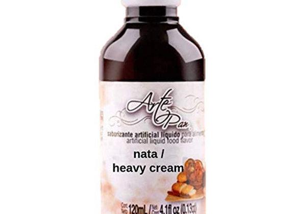 Concentrado Nata - Heavy Cream (Sabor y Aroma) 120ml