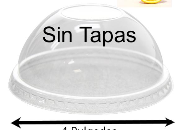 Contenedores 8oz Media Naranja SIN TAPAS (100)
