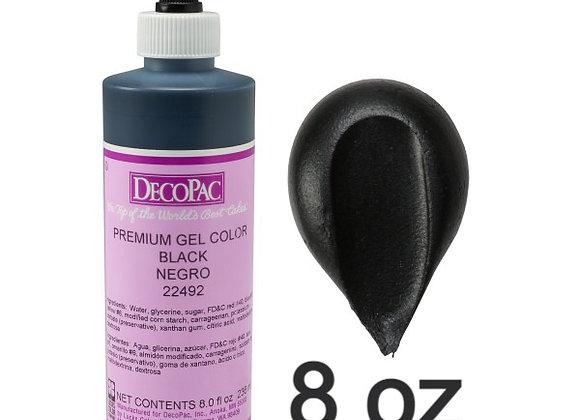 Negro - Black Premium Gel 8oz