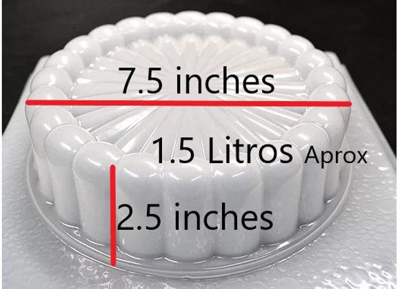 Circular pequeño 24 petalos 1.5 Litro