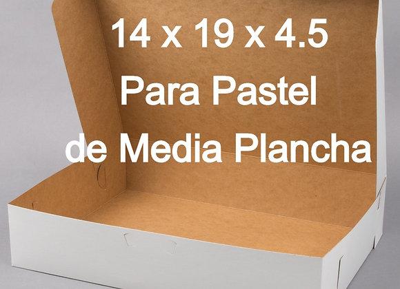 Caja Para Pastel - 14 x 19 x 4 pulgadas