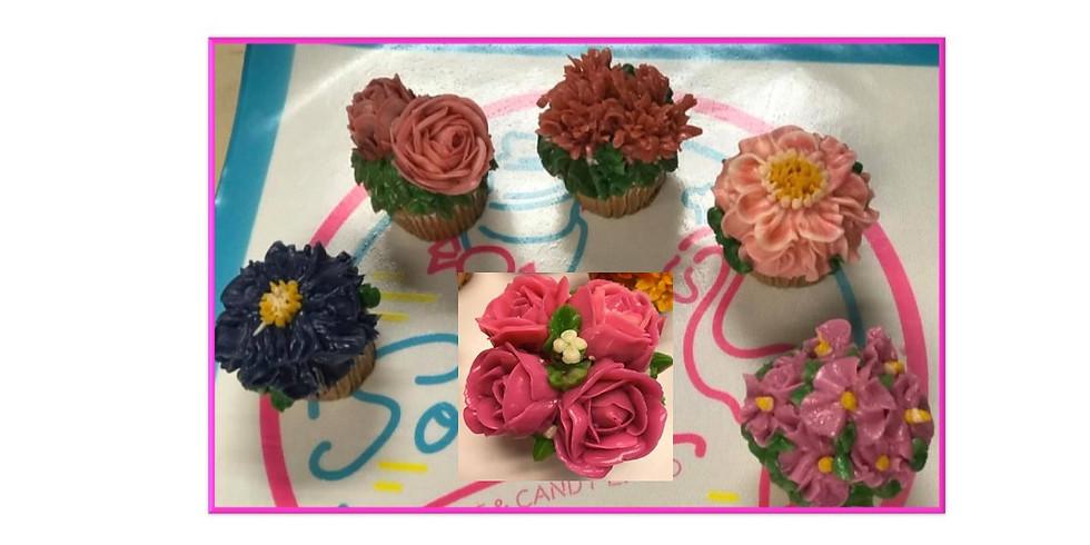 RALEIGH, NC Decoracion de flores con Betun Coreano $130