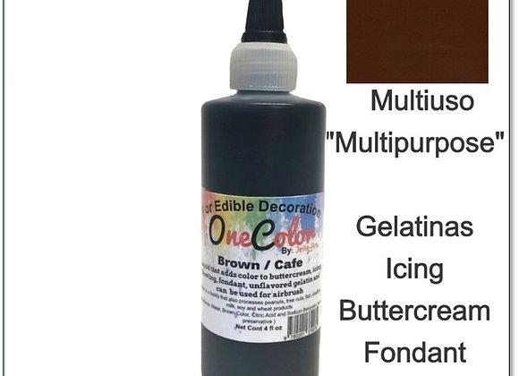 Liquid Color Brown - Café  4oz OneColor