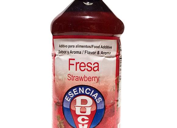 Fresa Esencia 1/2 Litro (500 ml)