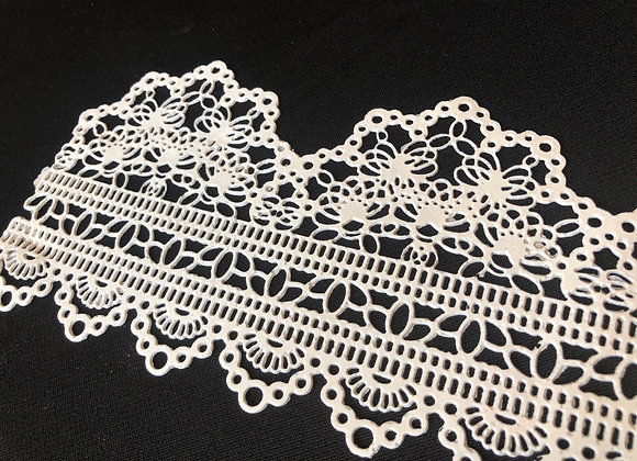 French Lace EF02 Color BLANCO