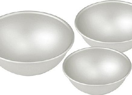 Fat Daddio's Moldes de Aluminio Media Esfera