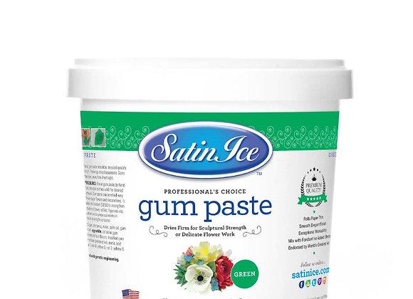 Gum Paste Green  Satin Ice 2lb