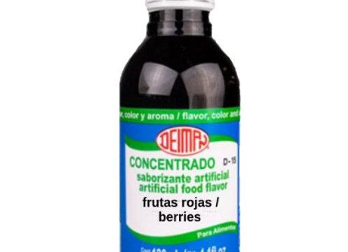 Frutas Rojas - Concentrado 4.1oz ( Sabor, Color y Aroma)