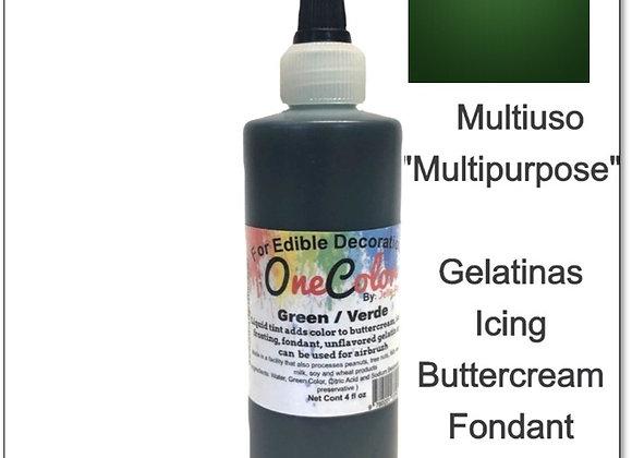 Liquid Color Green Leaf - Verde Hoja  4oz OneColor
