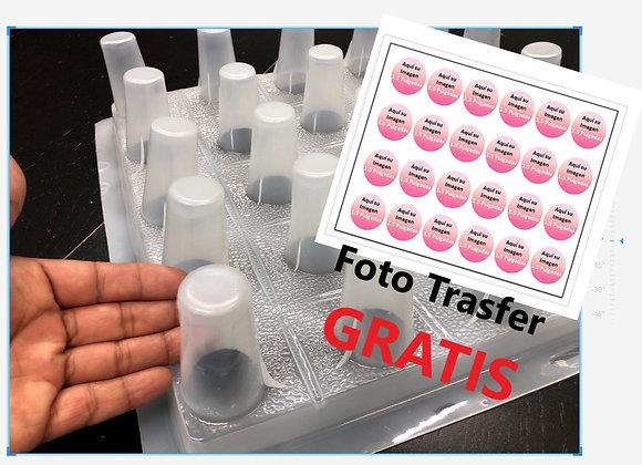 Gelapaletas con 25 Orificios y Foto-Transfer