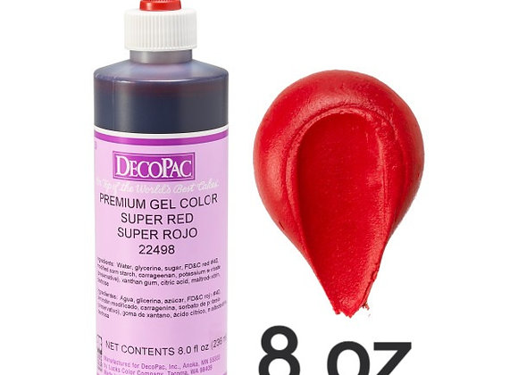 Super Rojo - Super Red Premium Gel 8oz