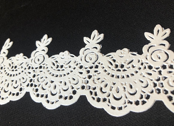 French Lace EF11 Color BLANCO