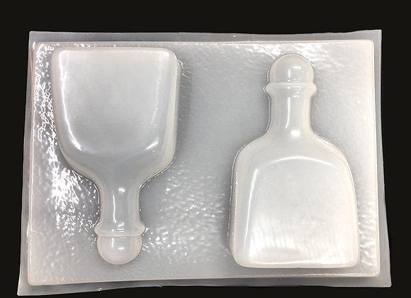 Botellas Medianas de Patron (2)