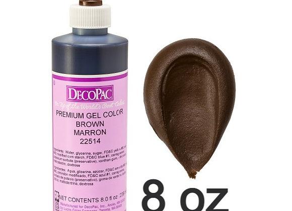 Café - Brown Marron Premium Gel 8oz