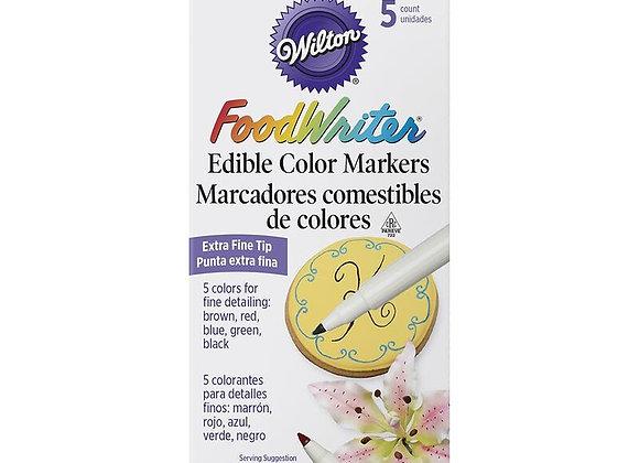 Marcadores Comestibles de Colores - Edible Color Food Writer Markers