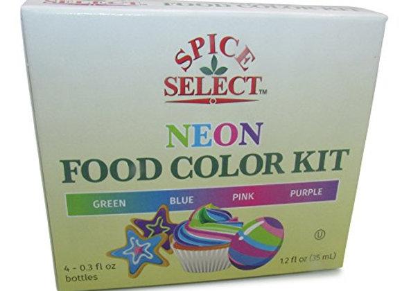 Set Multicolor 4 botecitos 0.3oz Regular y Neon