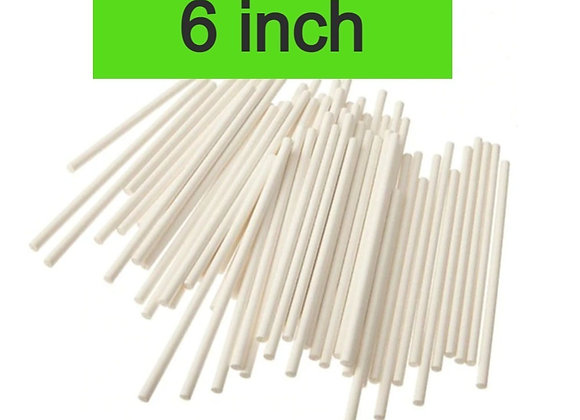 Palitos Gelapaletas y  CakePop Sticks  6 Pulgadas 50 bolsa