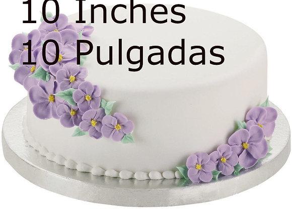 "Base para Pasteles 10 pulgadas - Round Cake Drum10"" - 1/2 Inch Thick"