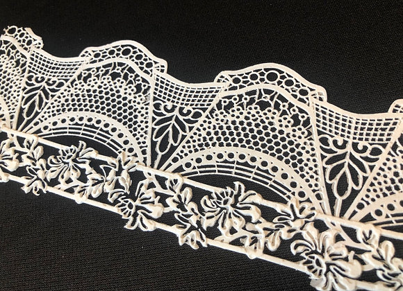 French Lace EF76 Color BLANCO