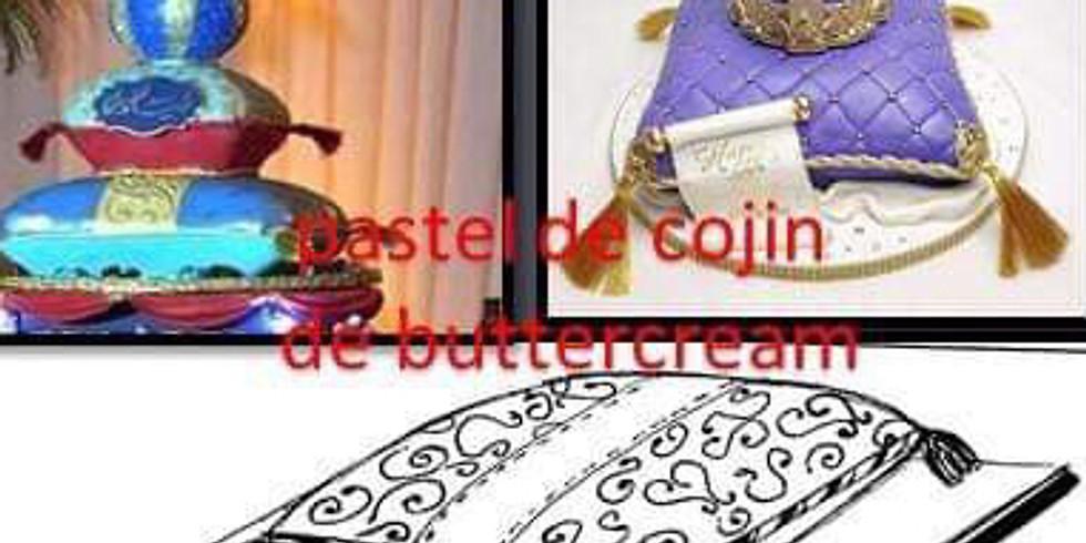 Pastel Cojin en ButterCream.  Costo $170