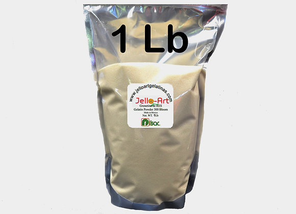 Unflavored Gelatin - Grenetina de Res 1lb (16oz) Bag