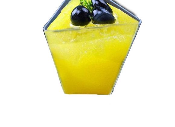 Vasito Triangular - Clear Triangular Cup 3oz(12)
