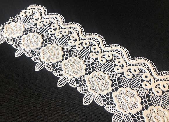 French Lace EF51 Color BLANCO