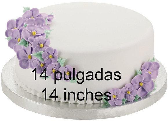 "Base para Pastele 14 pulgadas - Cake Drums 14"""