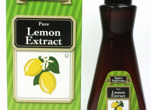 PURE LEMON EXTRACT 2oz Spice Supreme