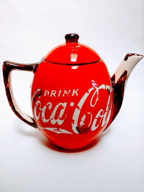 Cola pottery Coffee pot