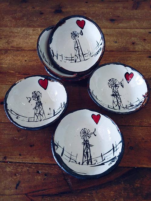 Windmills & Hearts Bowls
