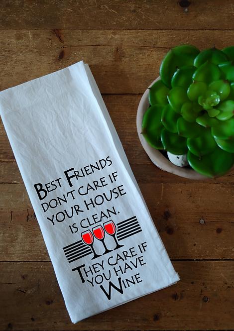 100% Cotton Dishcloth - Best Friends