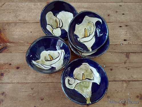 Arum Lily Medium Bowl
