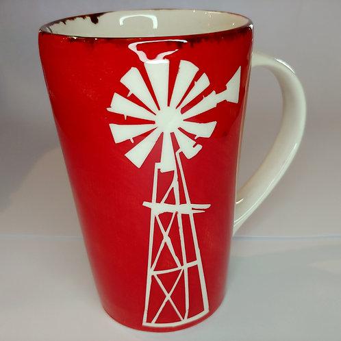 Windmill tall mug