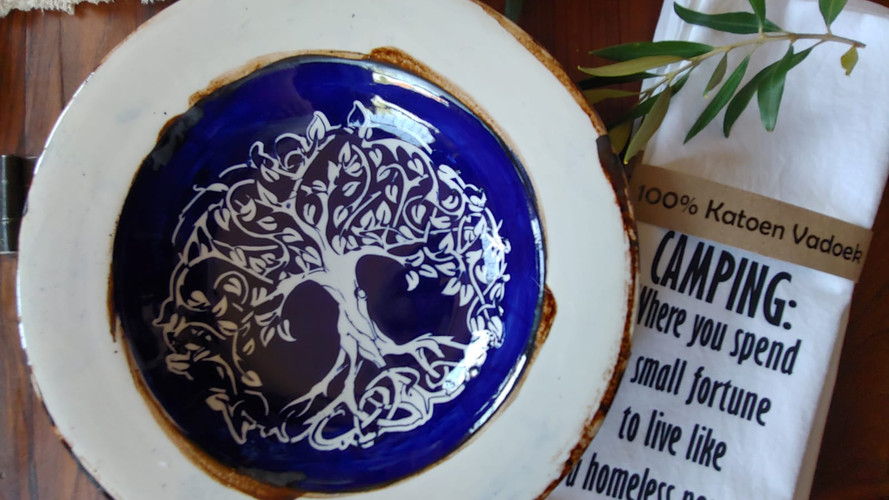 Tree of life Plate