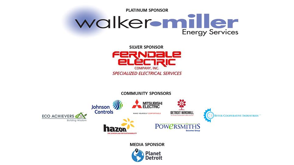 2021 Sustainable Detroit Forum Sponsors.