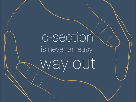 c-section a way out