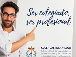 Promociones para colegiarte en COLEF Castilla y León