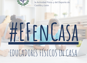 COLEF Castilla y León lanza la campaña'Educadores Físicos en Casa'