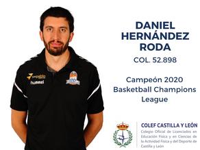 Daniel Hernández Roda: campeón de la Basketball Champions League 2020